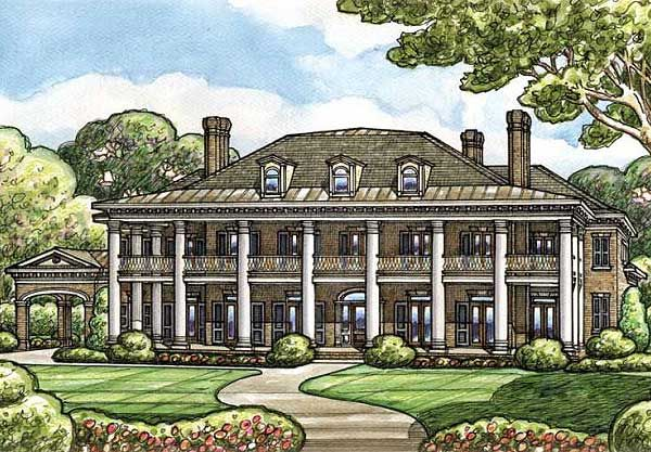 Plan 42156DB: Your Very Own Southern Plantation Home | Photo ...