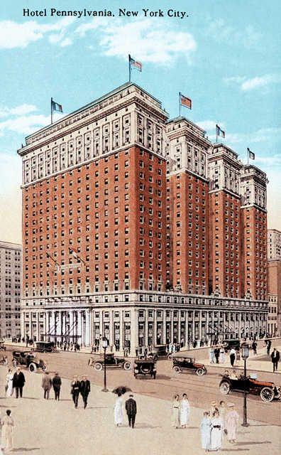 Hotel Pennsylvania New York City 1920 I Got My Shoes Shined Up