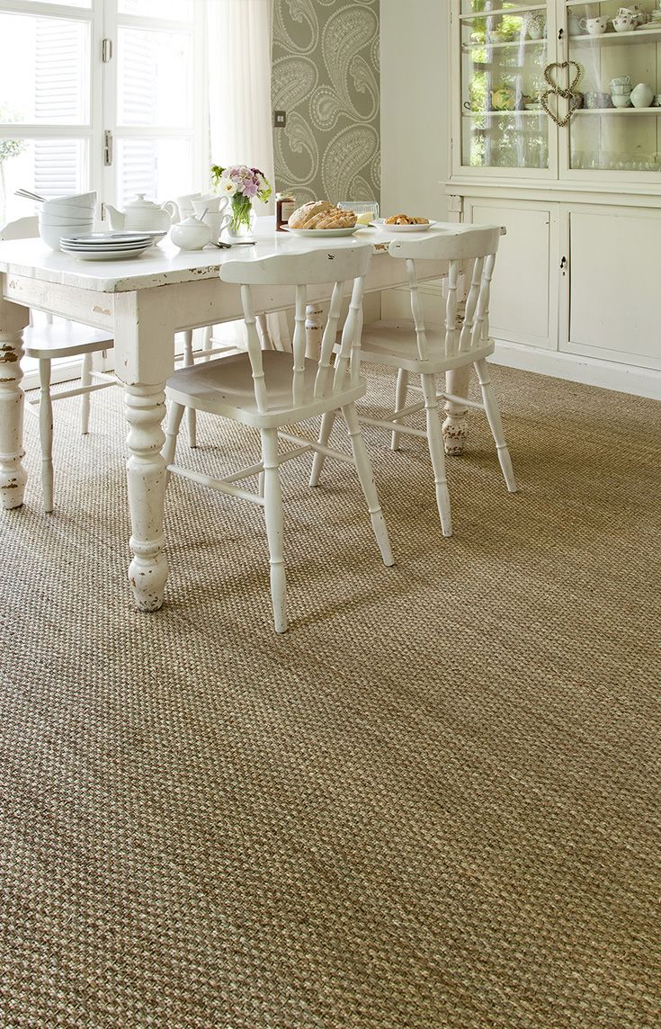 Sisal Carpet In A Country Kitchen Living Room Carpet Seagrass Carpet Kitchen Carpet