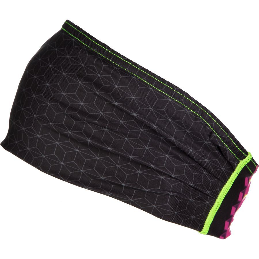 Louis Garneau - Method Headband - Women's - Black/Pink Glow