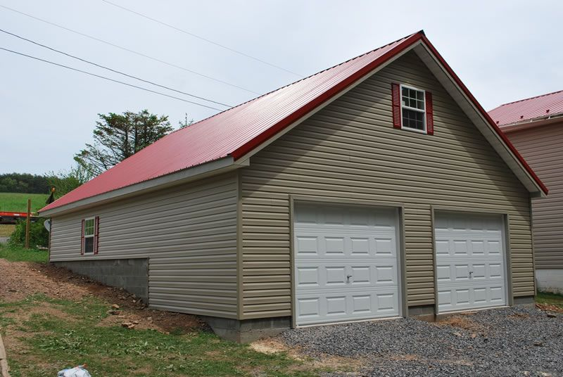Houses with Red Metal Roof | 12 pitch with red metal roof | Red roof house,  Exterior house colors, House exterior
