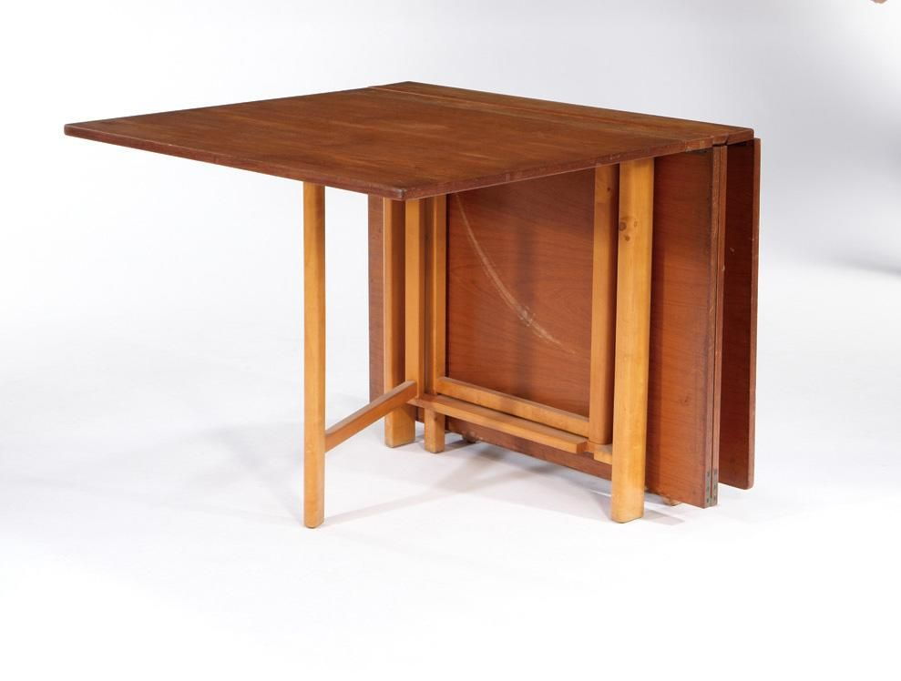 Bruno Mathsson   Karl Mathsson   Folding Dining Table