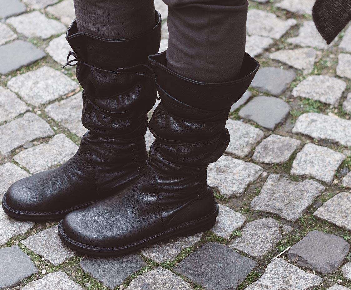 Trippen, SantaFe Closed Damen Stiefel, schwarz | Stiefel