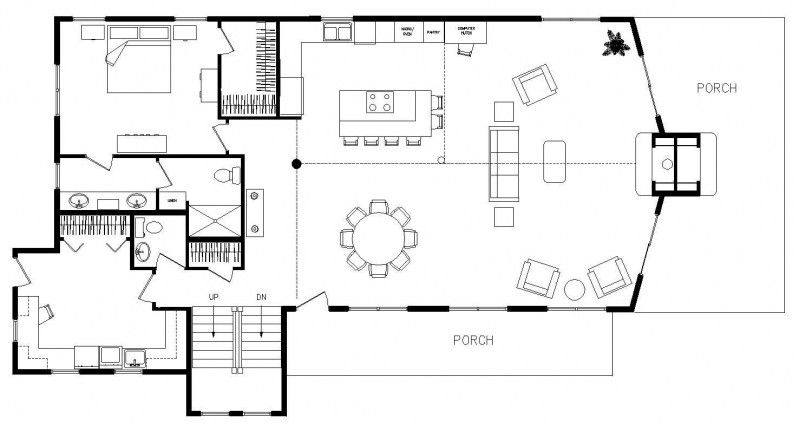 Mudroom House Floor Plans Log Home Floor Plans Floor Plans