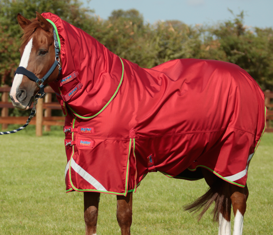 Buster An 200 Turnout Rug With Neck