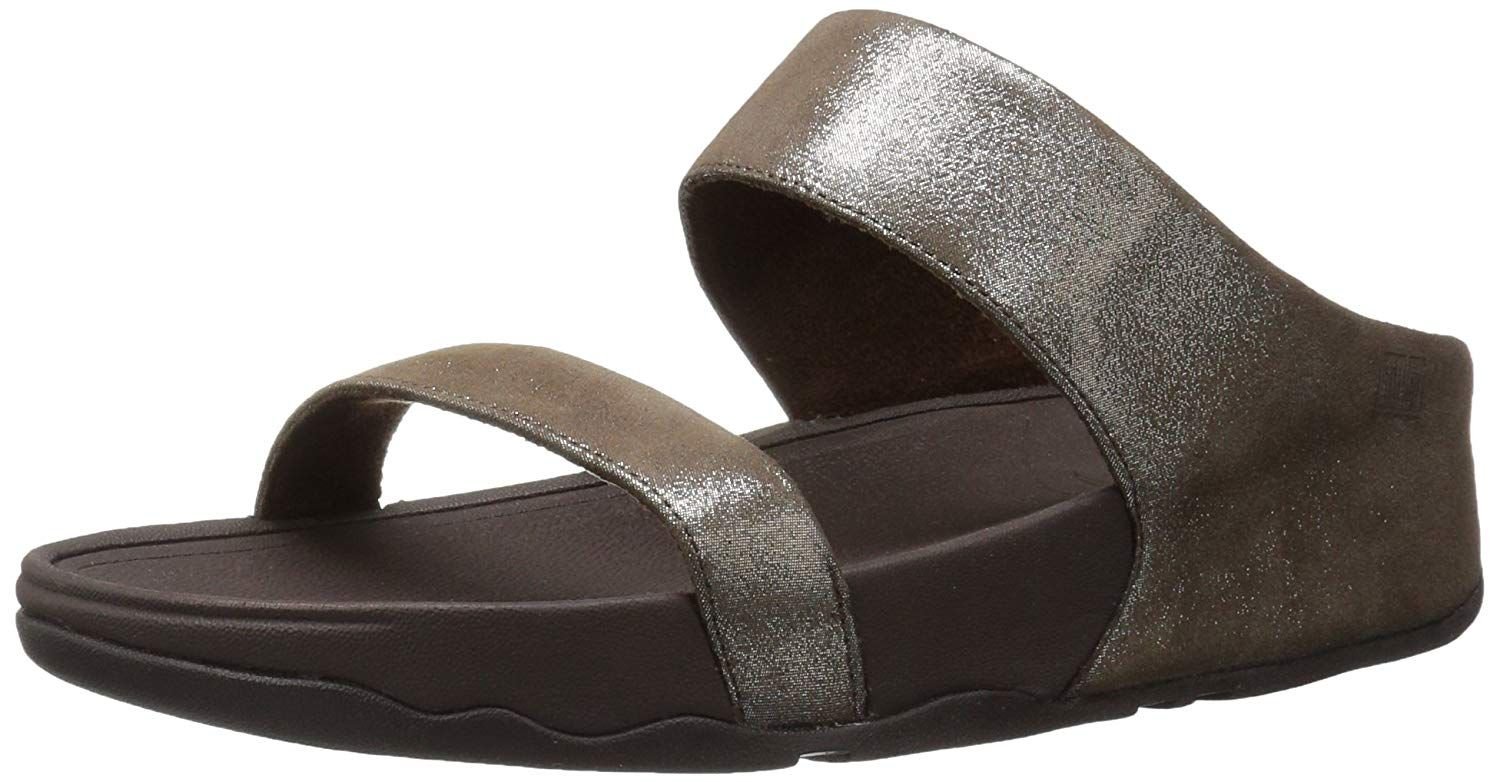 19514d55d391bf FitFlop Women s Lulu Shimmersuede Slide Flip Flop   Many thanks for  visiting our picture. (This is our affiliate link)  womensflipflops