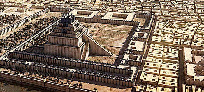 Etemenanki ziggurat in Babylom