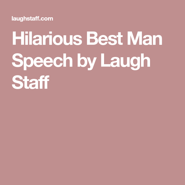 best man rehearsal dinner speech examples