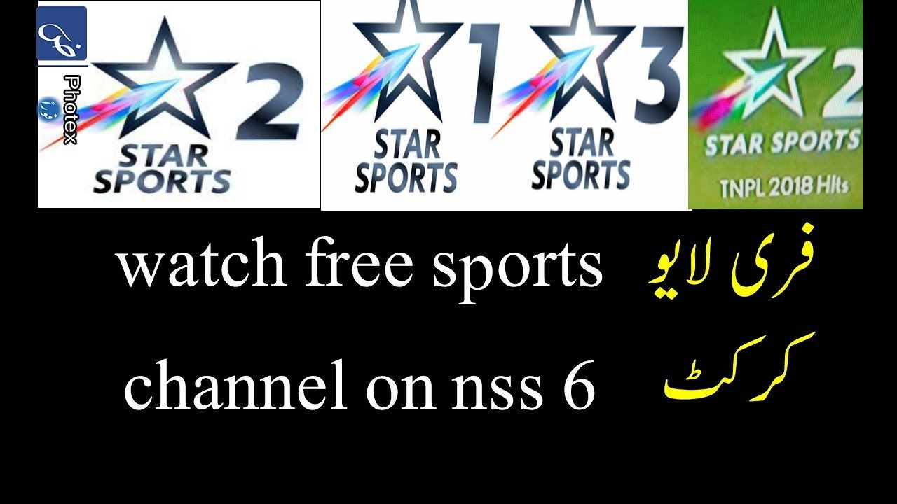 Star sports 1,2,3, sony ten all channel free to air on nss 6