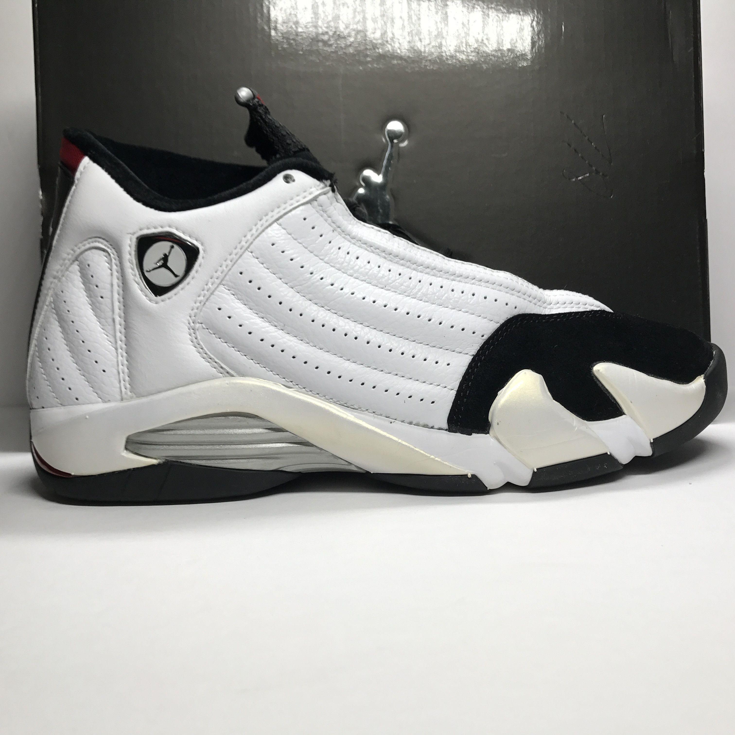 separation shoes cb915 11908 Nike Air Jordan 14 XIV Retro Black Toe 2005 Size 10.5 ...