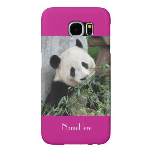 Samsung Galaxy S6 Case Giant Panda Hot Pink Samsung Galaxy S6 Cases
