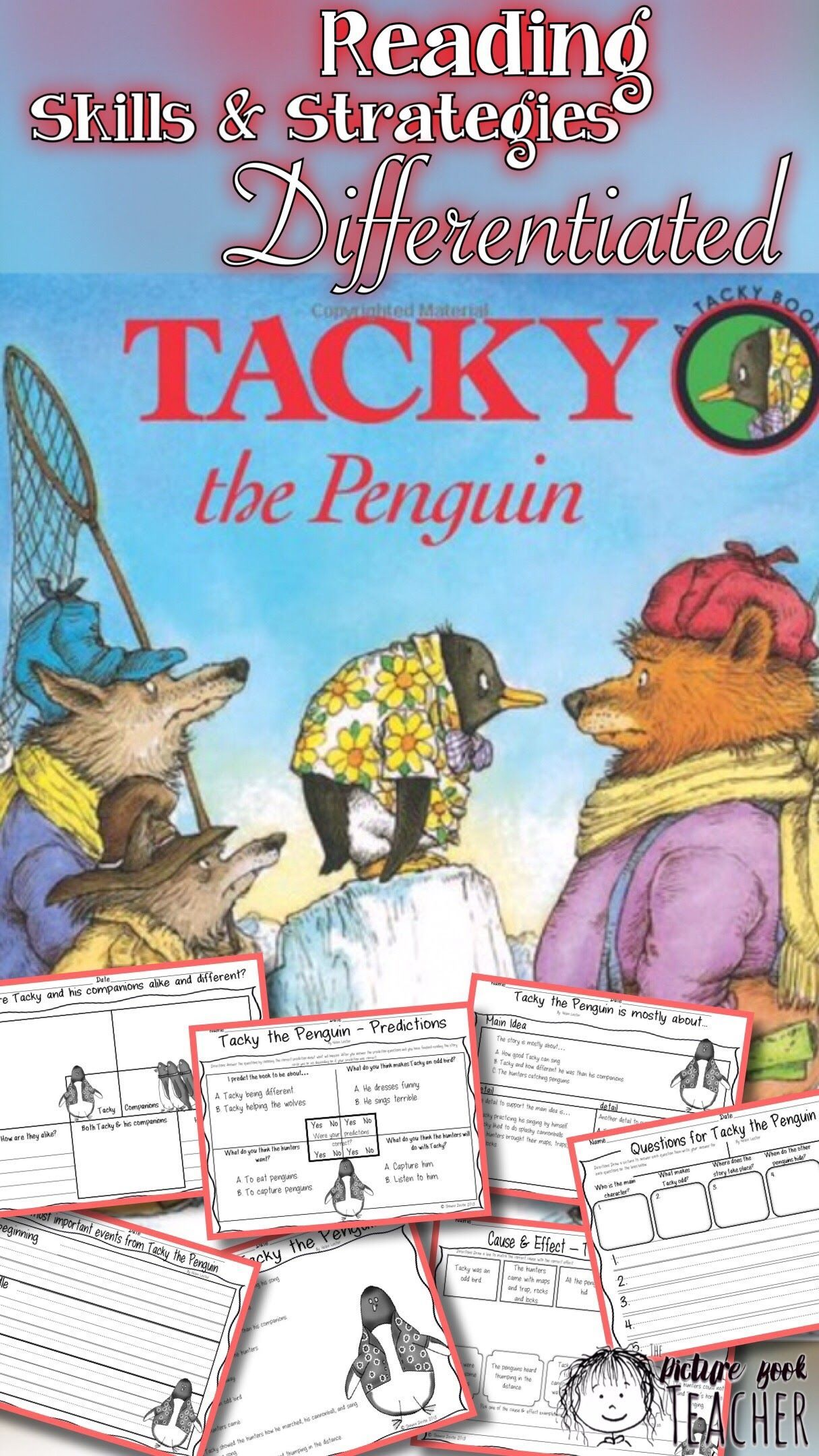 Tacky The Penguin Differentiated Reading Skills And
