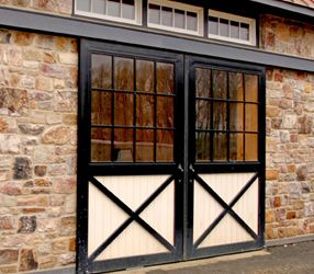 Sliding Doors and Loft Doors - Steel Aluminum Exterior Barn Doors ...