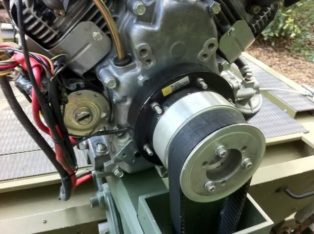 Homemade surface drive mud motor plans for Mud motor electric clutch