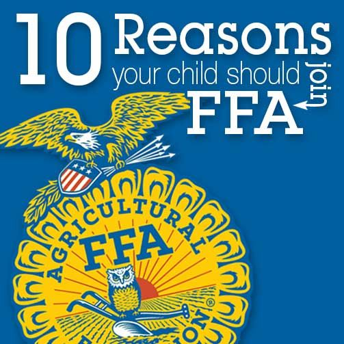 Discover the power of FFA and 10 reasons your child should join the organization on Texas Agriculture Talks.