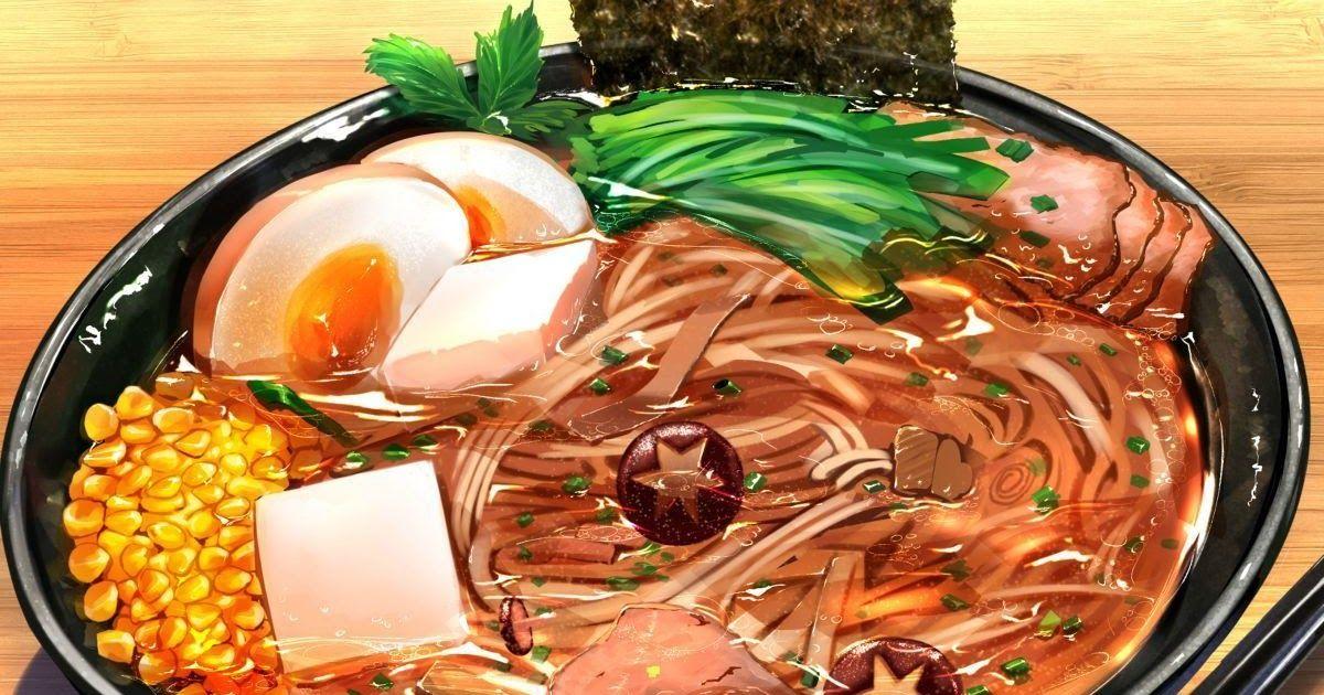 10++ Anime Food Wallpaper di 2020 Makanan, Gambar