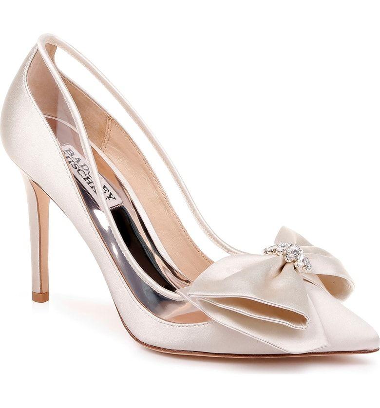 Badgley Mischka Frances Bow Pump Women Nordstrom Bow Pumps Women S Pumps Diy Wedding Shoes