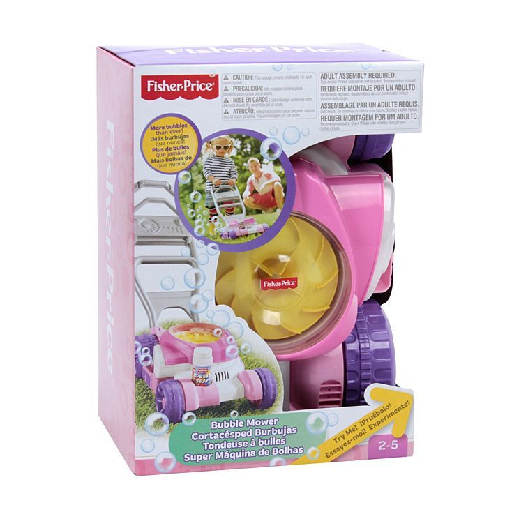 Fisher Price Bubble Mower Pink Cgm04 Fisher Price Baby