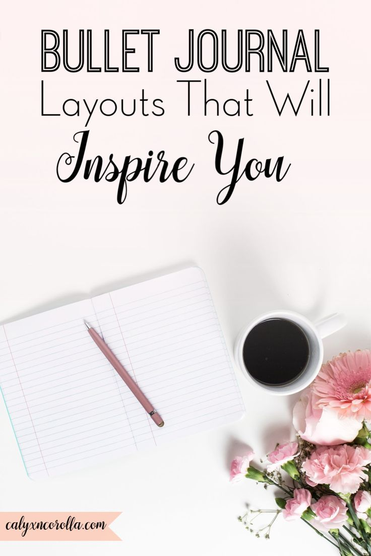 Favorite Bullet Journal Layouts That Will Inspire You - Calyx & Corolla