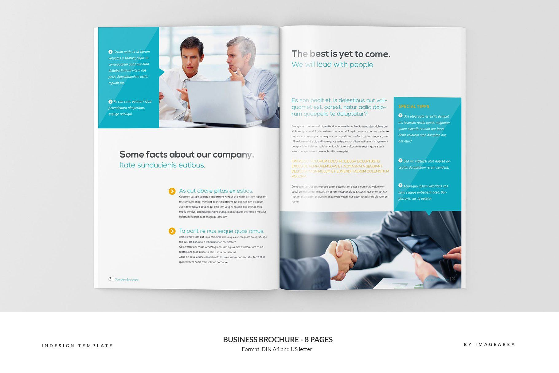 business brochure 8 pages brochure business templates pages