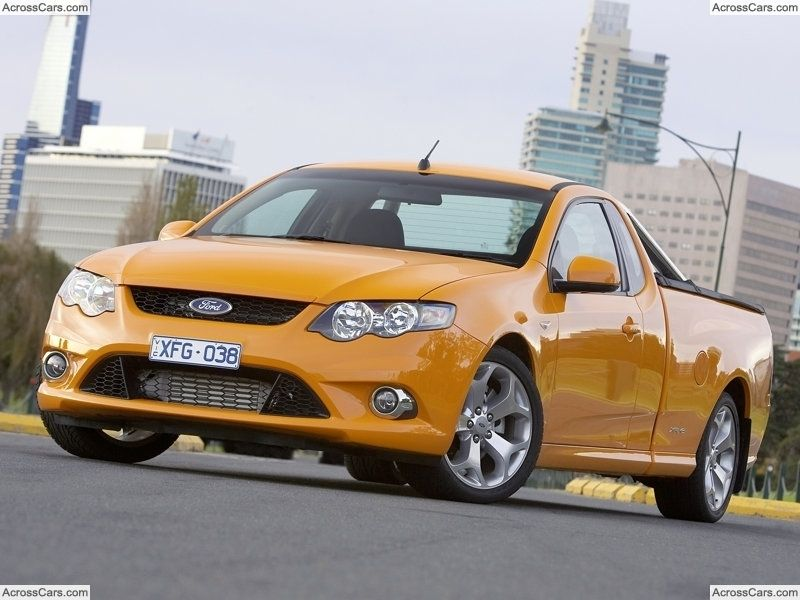 Ford Fg Falcon Ute Xr6 Turbo 2008 Ford Ranger Ford Bronco