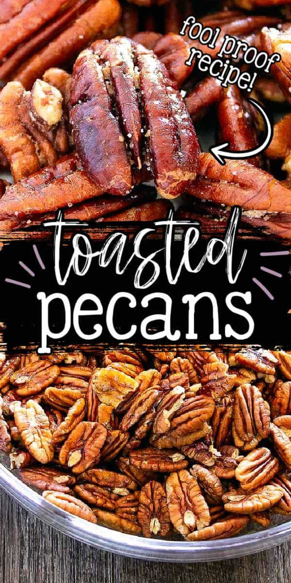How to make Perfectly Toasted Pecans! (or any nut