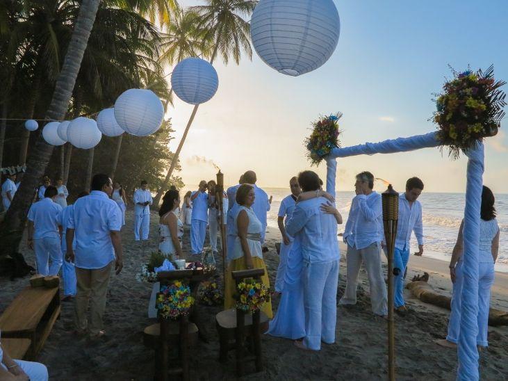 Matrimonio Catolico En La Playa Colombia : Wedding on the beach la jorara santa marta magdalena