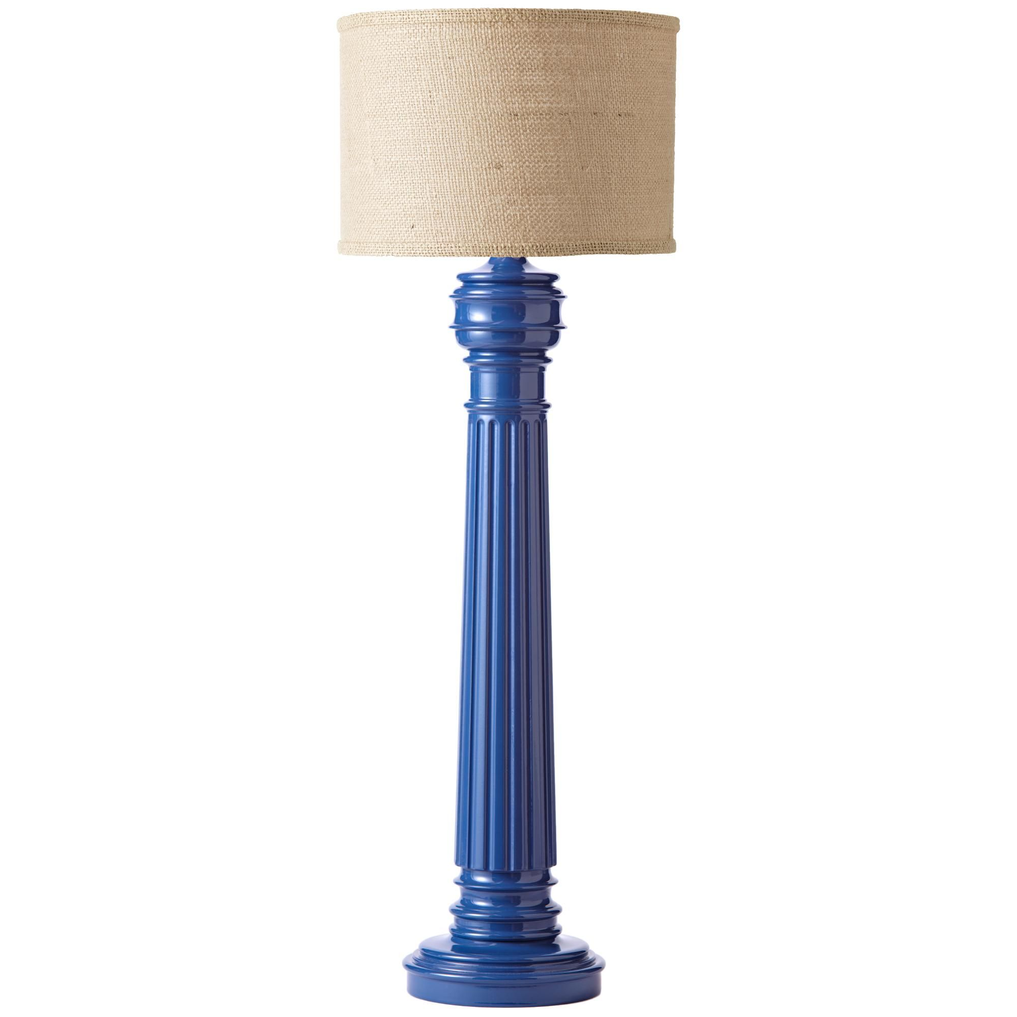 Available in Large or Small with or without Round Burlap Shade. Large:  Inspired by