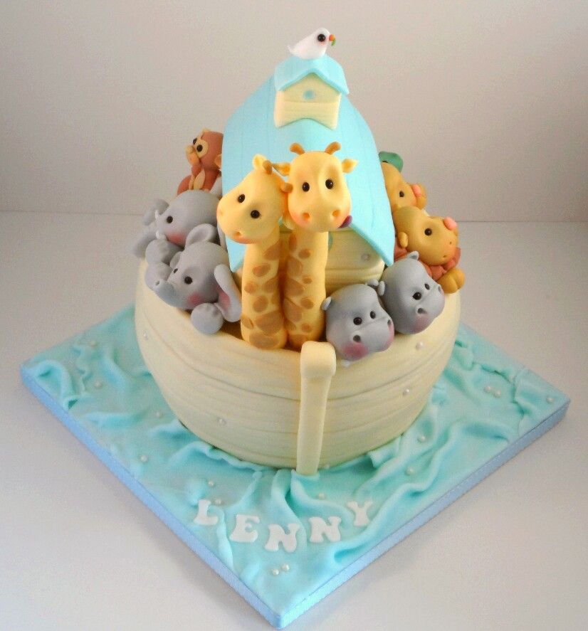Noah's Ark - The Sugar Plum Bakery - by Tara Saphir