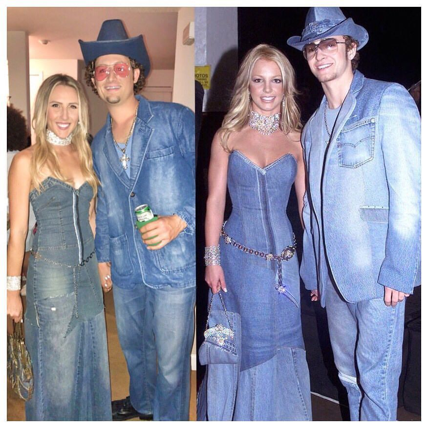 Image result for Denim-On-Denim: Signature Look Of Justin Timberlake And Britney Spears In Talk After 20 Years