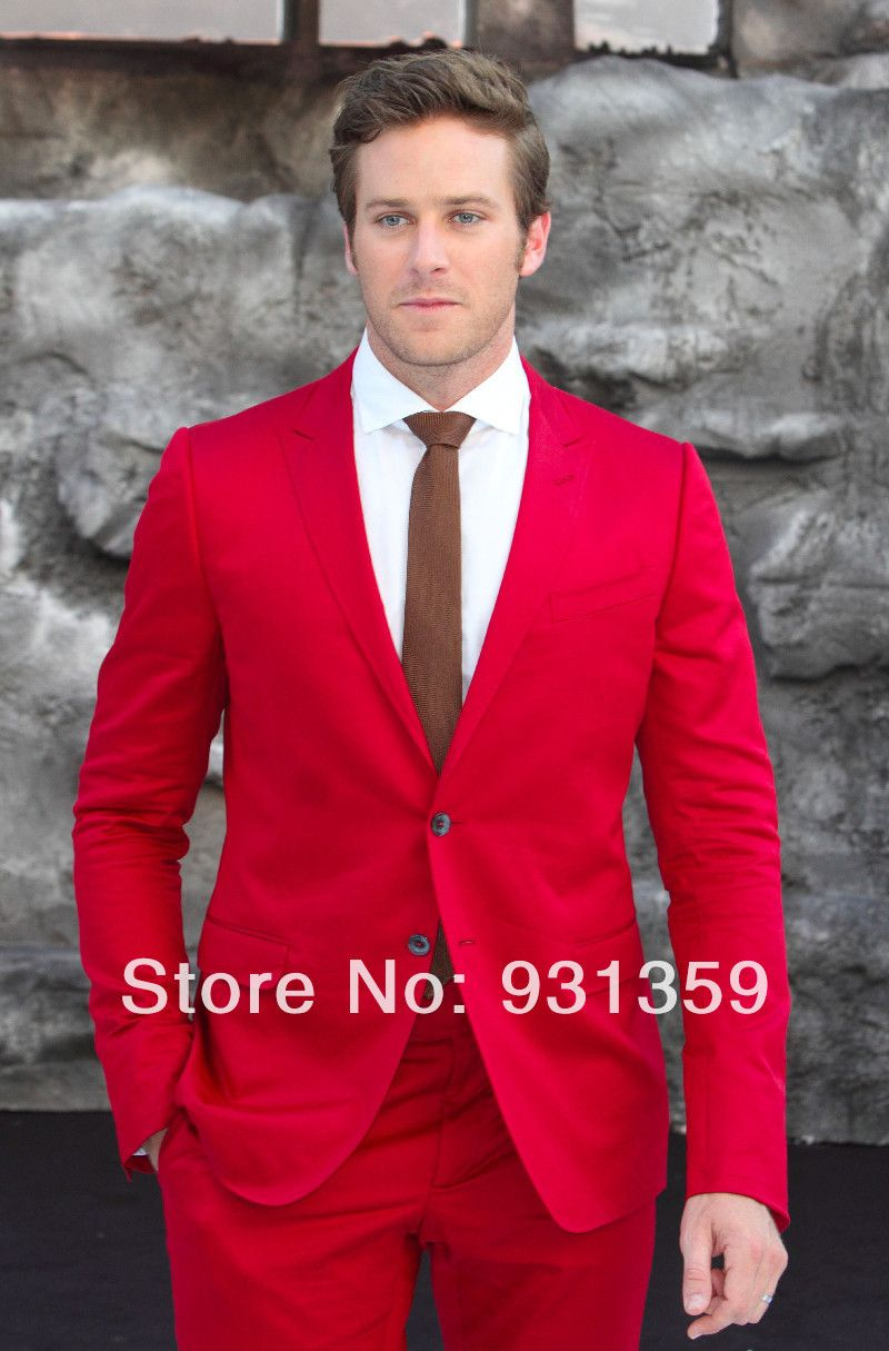 red prom tuxedos - Google Search | Adult Prom | Pinterest | Mens ...
