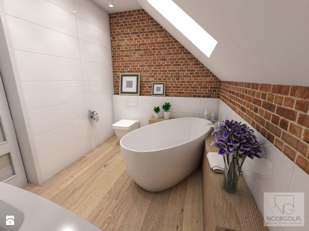 łazienka Na Poddaszu Zdjęcie Od Ngorgol łazienka Styl