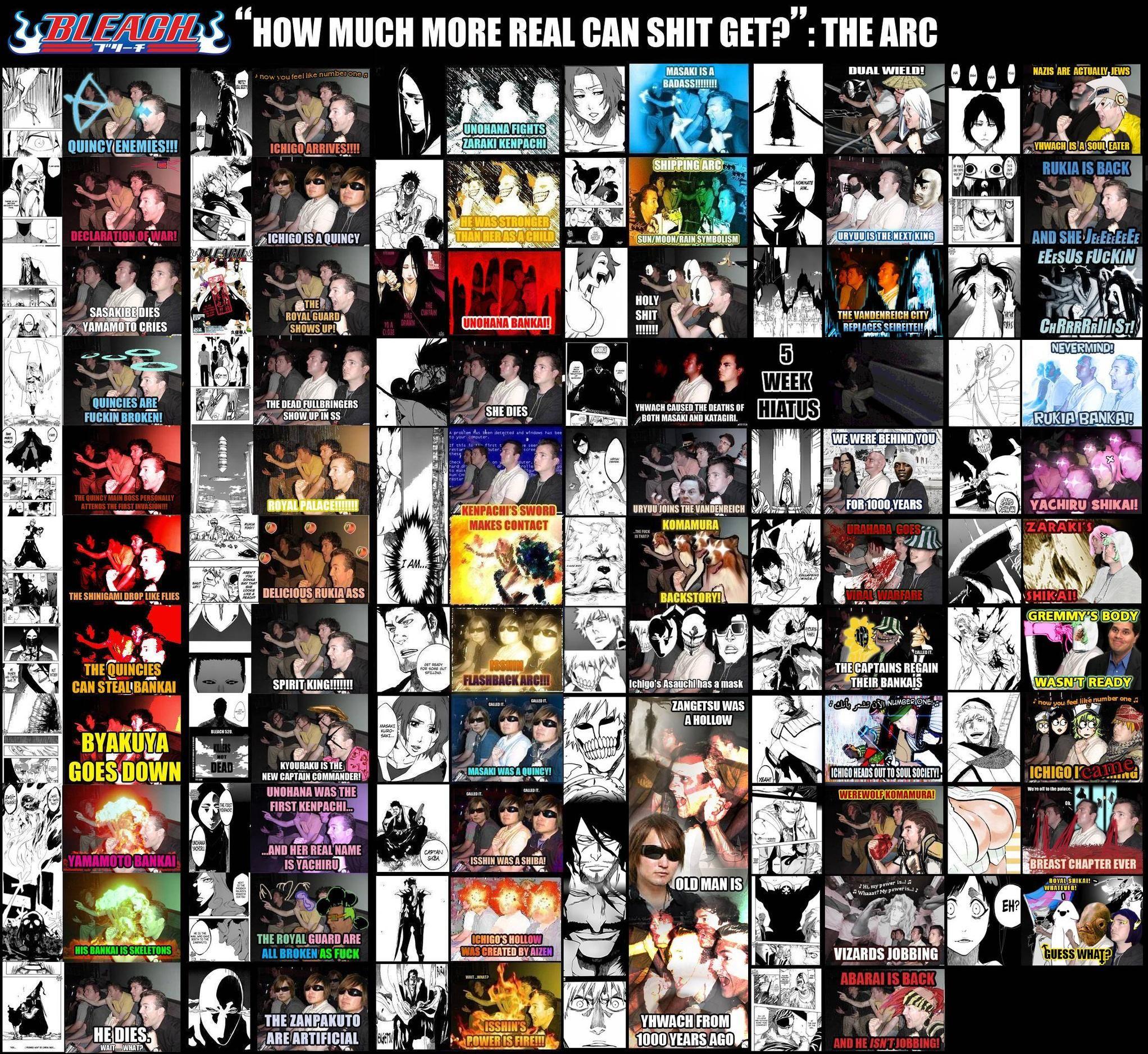 Updated From 4Chan D Hahaha I Love Bleach Fans