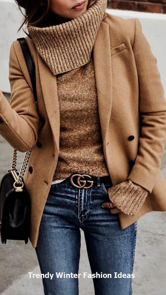 Idee alla moda per l'inverno #winteroutfit #womenfashionwinter