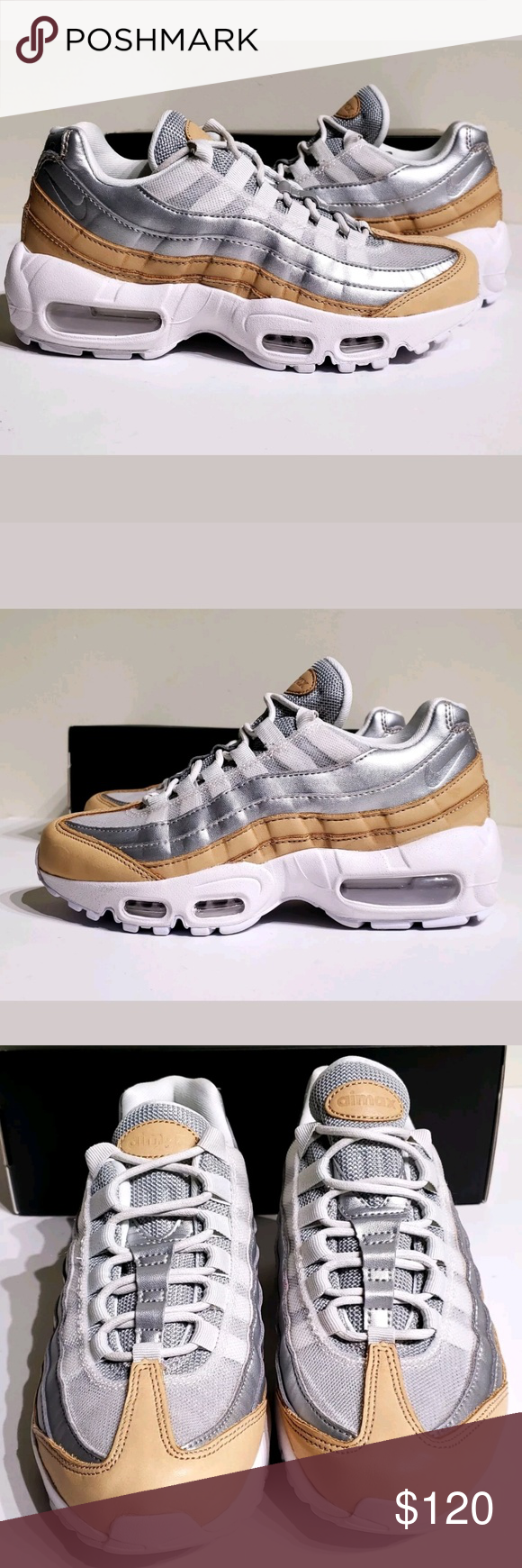 finest selection 4d43b 8b6f8 Nike Air Max 95 Special Edition Premium Shoes New with Box NO LID Women's Nike  Air Max 95 Special Edition Premium Shoes Style: AH8697-002 Women's Size 5  ...