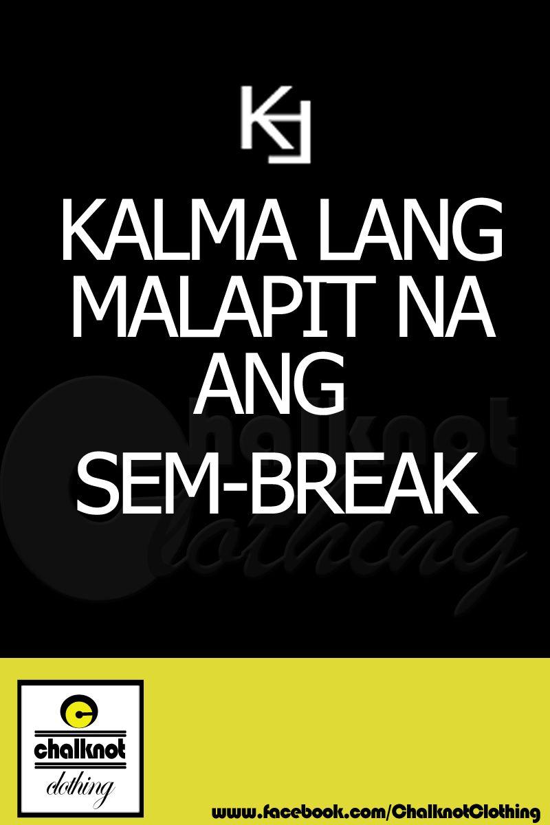 Kalma Lang Sem Break Calm Artwork Calm Lol
