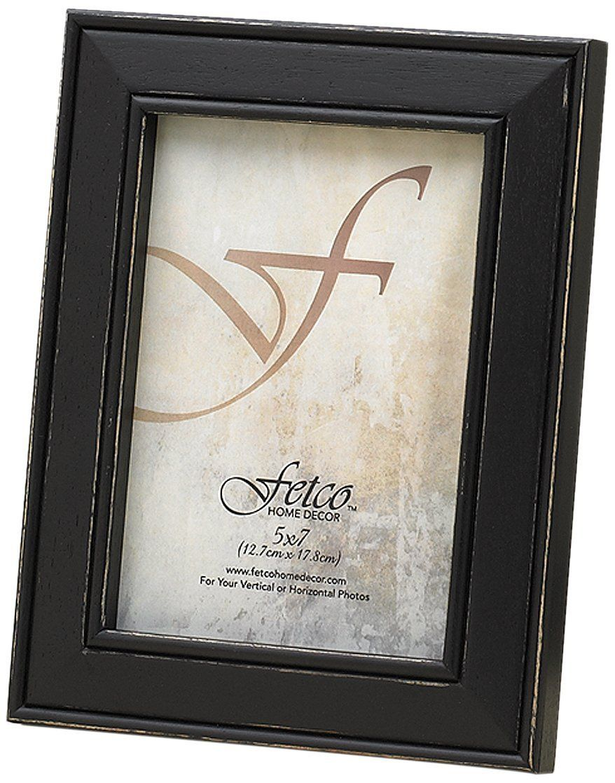 Fetco Home Décor F464657 Longwood Frame, Rustic Black ** Be sure to ...