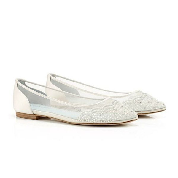 Find This Pin And More On Flats Bridal Shoes Ultra Pretty Feminine Flat