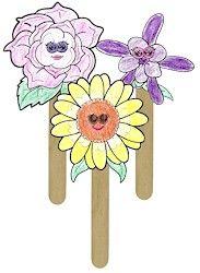 flower friends puppets girl scout