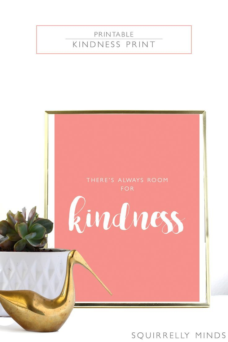 Free Printable X Kindness Print Free Printable Printing And Free - Celebrate it templates place cards
