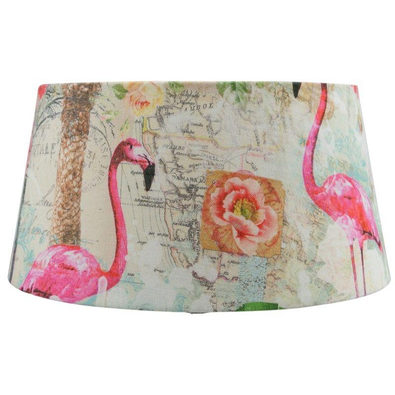 Lampenkap Met Flamingo S Super Schattig En Uniek Printje Verlichting Lampenkappen Ibiza Ibizastijl Kinderkamer Lamp Lampenkap Lampenkappen Pauwenveer