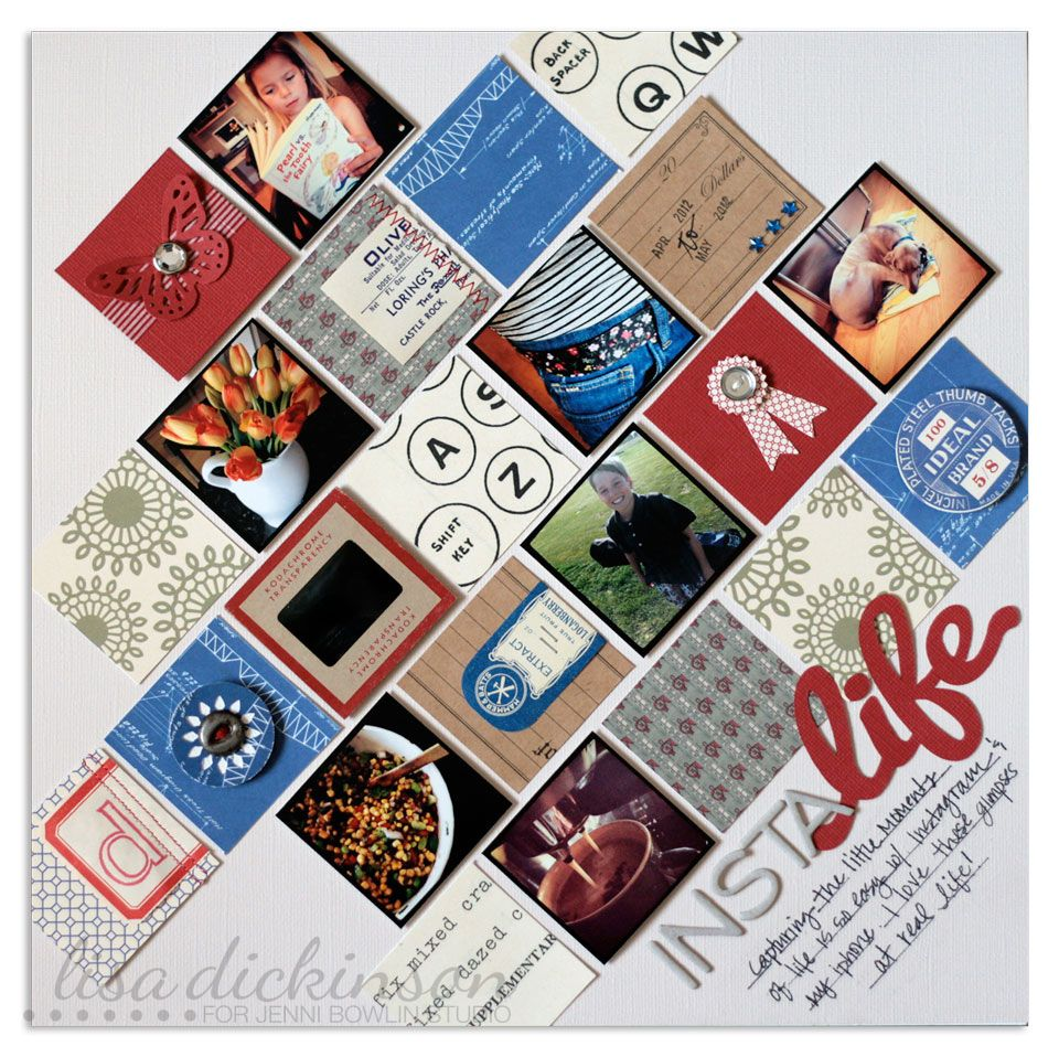 How to scrapbook school memories