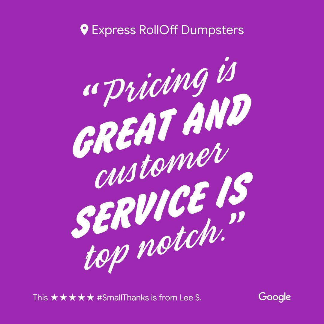 Express roll off dumpster rental palm bay melbourne