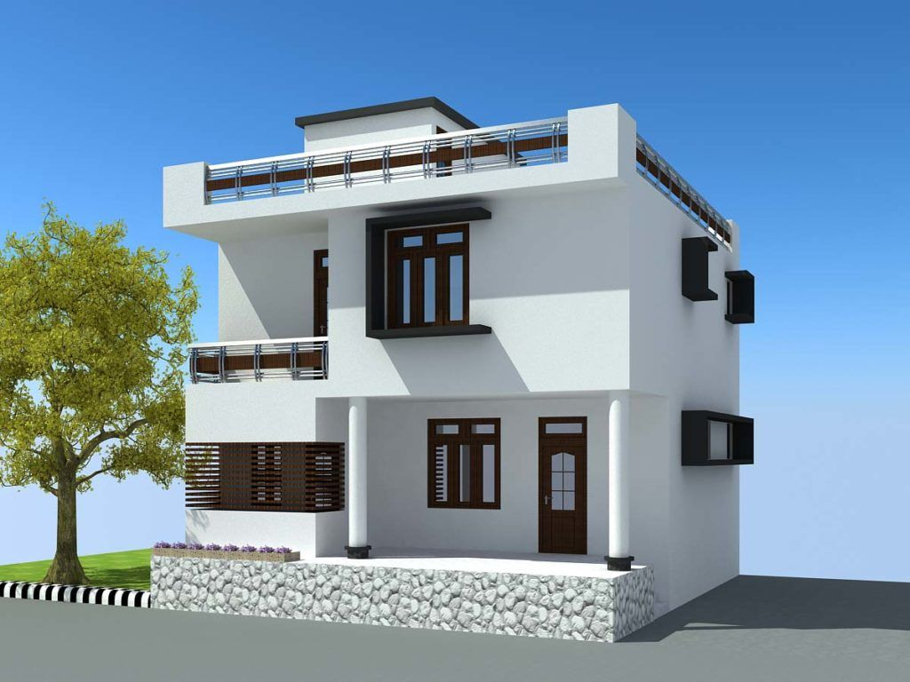 ... 3d Architecture Modeling Home Design. Pin By Rahayu12 On Simple Room  Low Budget Modern And Beautiful