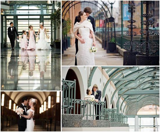 Milwaukee Wedding Indoor Photo Locations Indoor Wedding Photos Indoor Engagement Photos Downtown Hotels