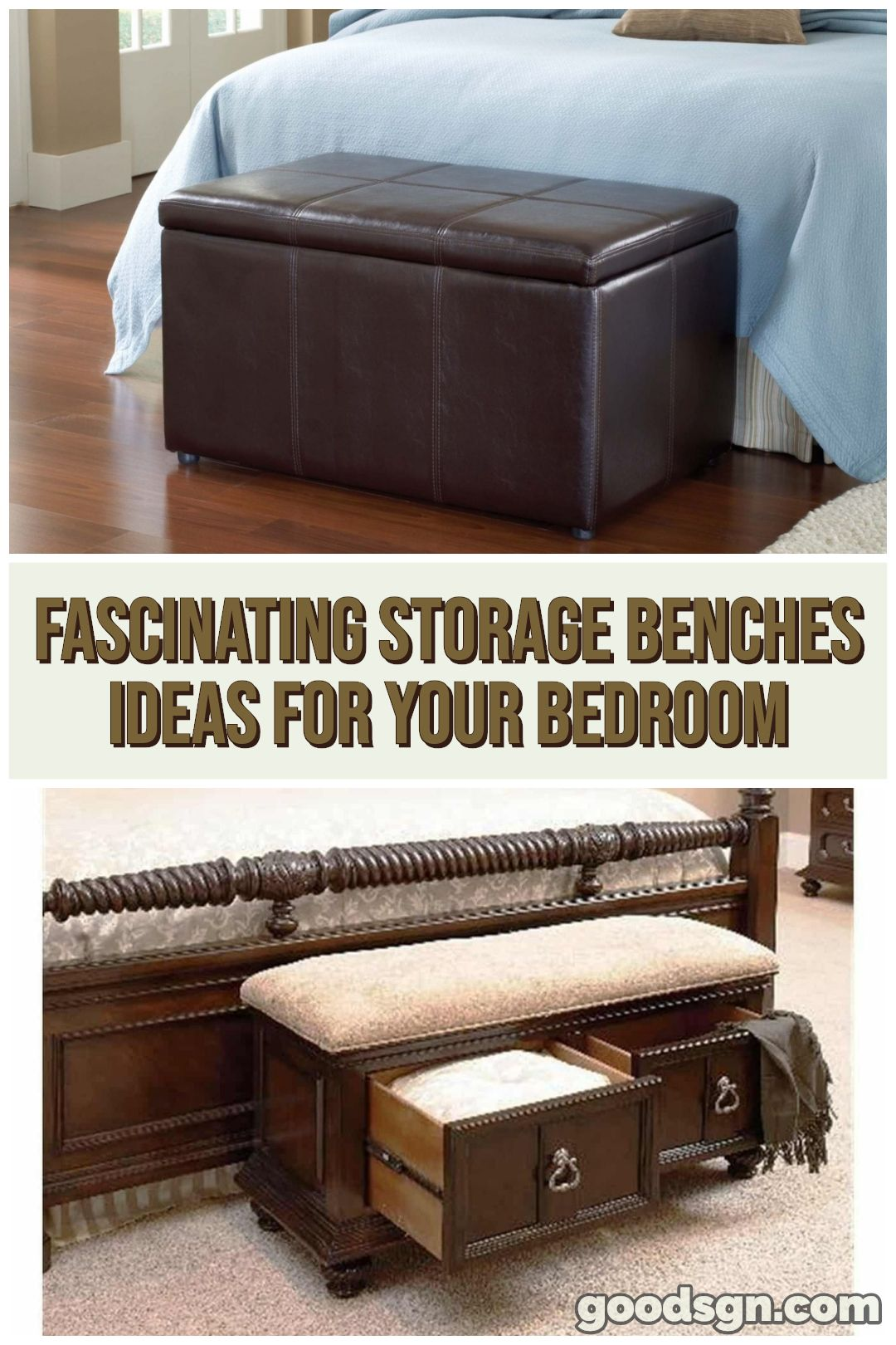 15 Top And Fascinating Storage Benches Ideas For Your Bedroom Bench With Storage Storage Bench