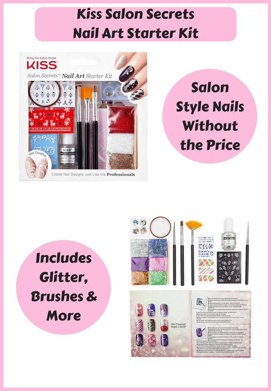 This Kiss Salon Secrets Nail Art Starter Kit Comes With Everything