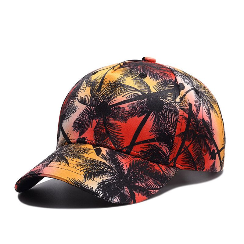 2ba78bf6deb26 Hot sale factory direct price Palm Trees custom printed baseball cap From  China supplier