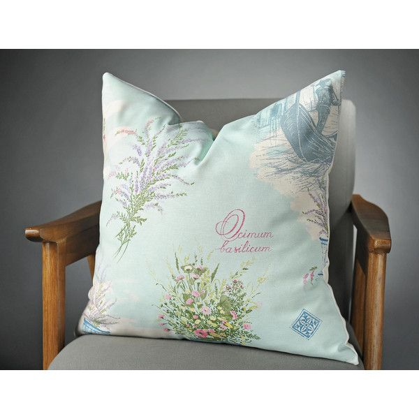 Aqua Pillow Cushion Turquoise