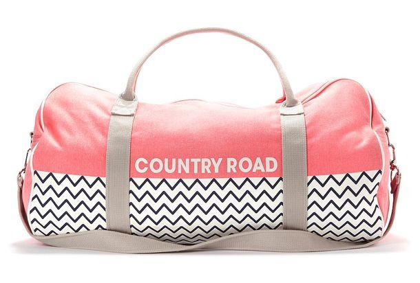 Country Road Tote Bag Bags Striped Beach Bag Perfect Travel Bag
